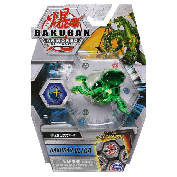 BAKUGAN ULTRA ARMORED ALLIANCE DELUXE 1 PACK NILLIOUS ULTRA