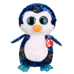 TY BEANIE BOOS FLIPPABLES PAYTON THE PENGUIN MEDIUM - Toyworld NZ