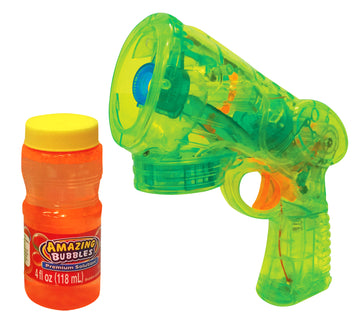 Billion Bubbles Spinning Light Bubbles Blaster - Toyworld