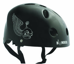 BONE SHIELDZ BOMBER YOUTH ADJUSTABLE HELMET BLACK
