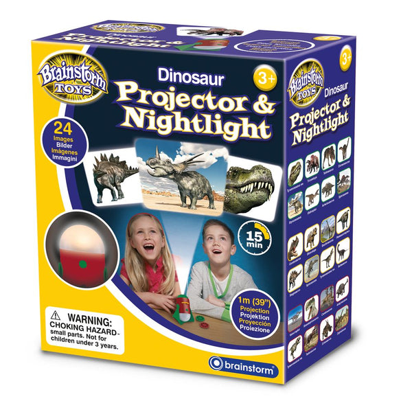 Brainstorm Toys Dinosaur Projector & Nightlight - Toyworld