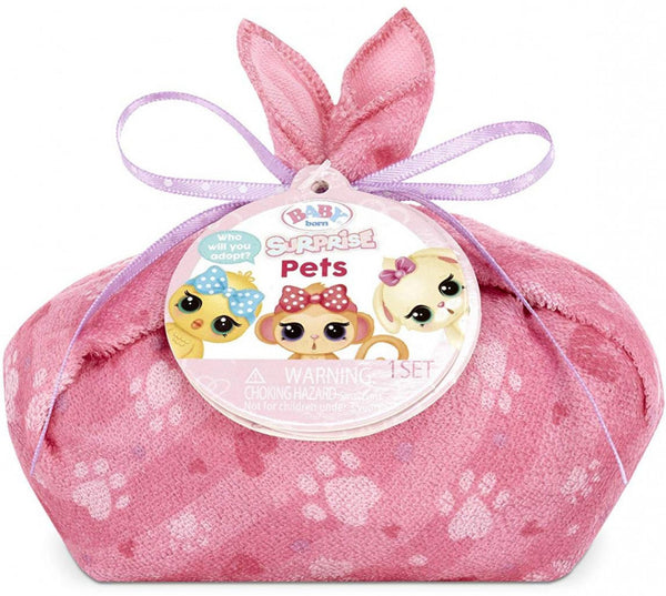BABY BORN SURPRISE PETS SINGLE PACK