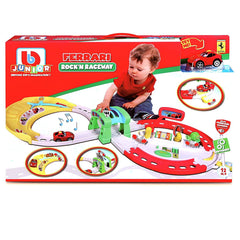 Bbjunior Ferrari Rock'n Raceway Playset - Toyworld