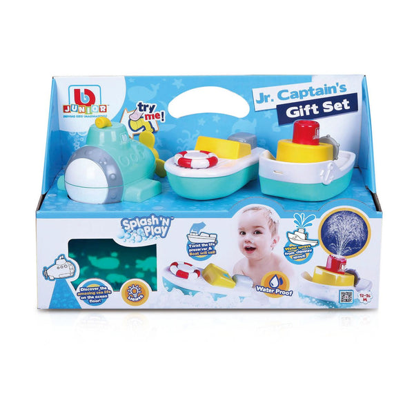 BBJUNIOR SPLASH 'N PLAY JR. CAPTAIN'S GIFT SET