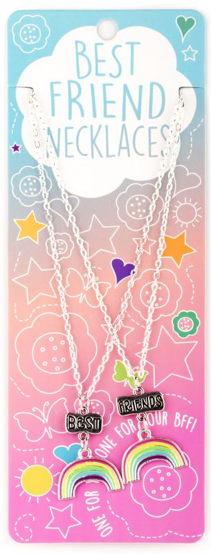 Best Friends Necklaces Rainbows - Toyworld