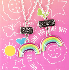 Best Friends Necklaces Rainbows Img 1 - Toyworld