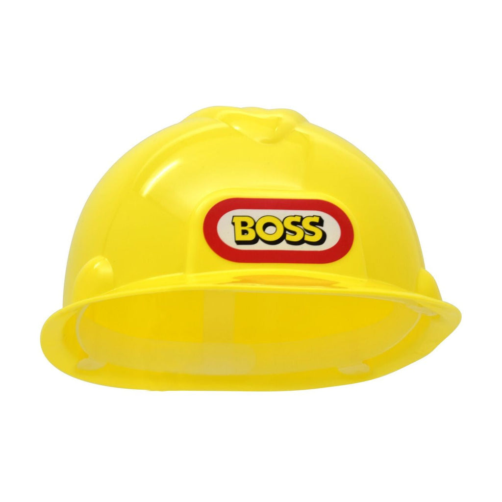 Boss Construction Helmet - Toyworld