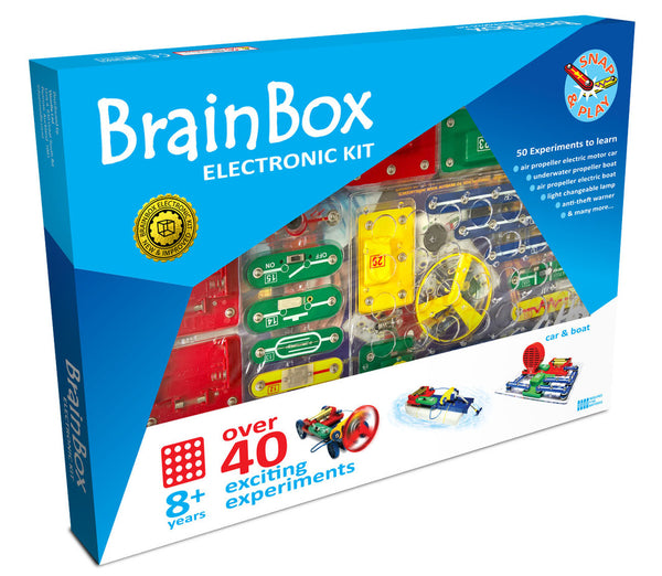 BRAIN BOX CAR & BOAT 40+ EXPERIMENT KIT