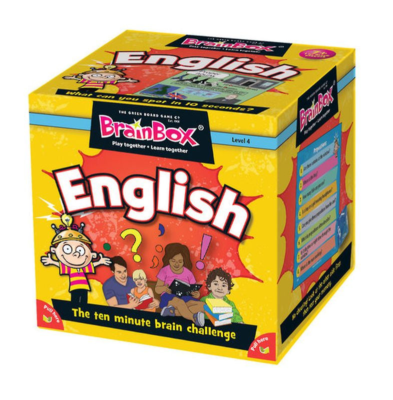 BRAIN BOX ENGLISH CARD GAME