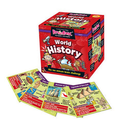 Brain Box World History Card Game Img 1 - Toyworld