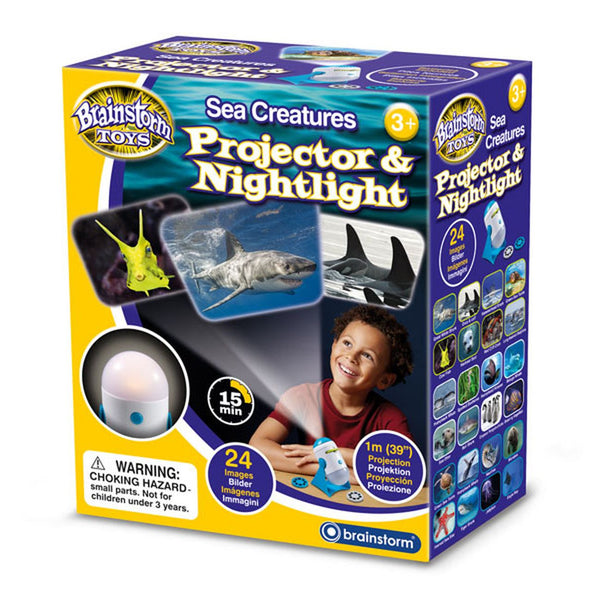 BRAINSTORM SEA CREATURES PROJECTOR & NIGHTLIGHT