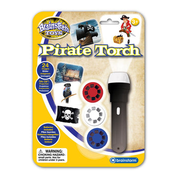 Brainstorm Toys Pirate Torch & Projector - Toyworld