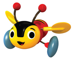 BUZZY BEE & FRIENDS BUZZY BEE WOODEN PULL ALONG