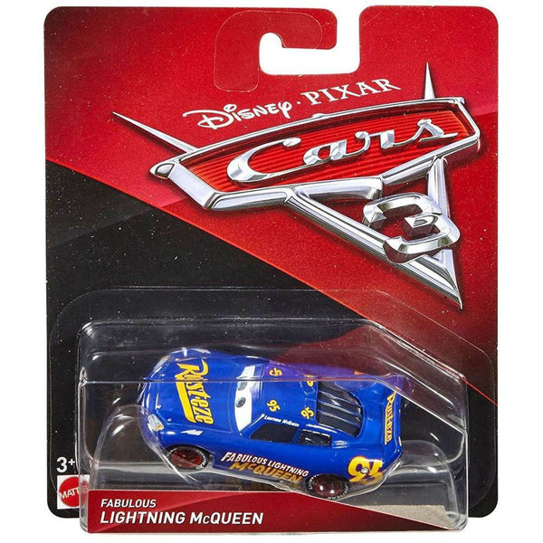 DISNEY CARS CHARACTER CAR FABULOUS LIGHTNING MCQUEEN