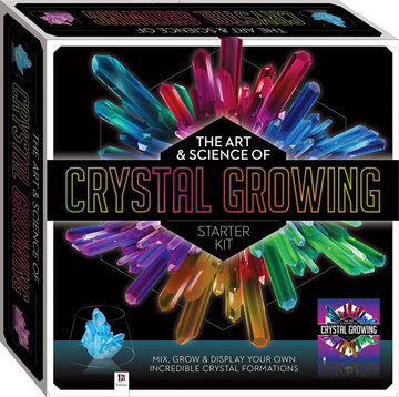 Hinkler the Art & Science of Crystal Growing Starter Kit - Toyworld