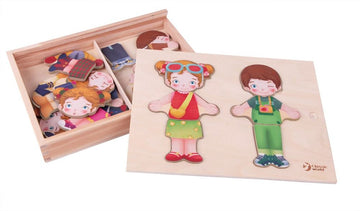Classic World Dress Up Puzzle - Toyworld