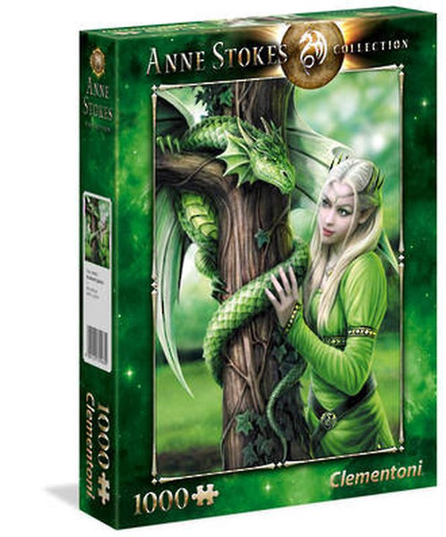 CLEMENTONI ANNE STOKES 1000 PIECE PUZZLE KINDRED SPIRITS