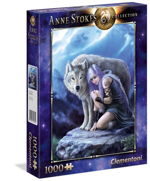 CLEMENTONI ANNE STOKES 1000 PIECE PUZZLE PROTECTOR