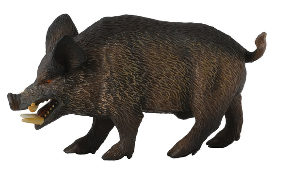 COLLECTA WILD BOAR FIGURE (RED)