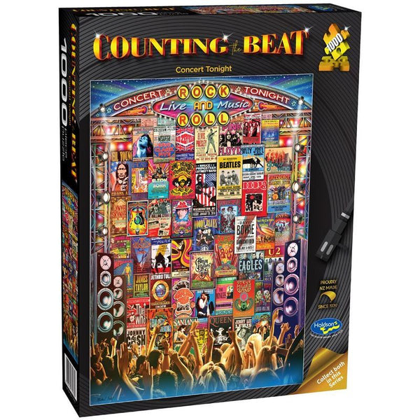 COUNTING THE BEAT CONCERT TONIGHT 1000PC PUZZLE