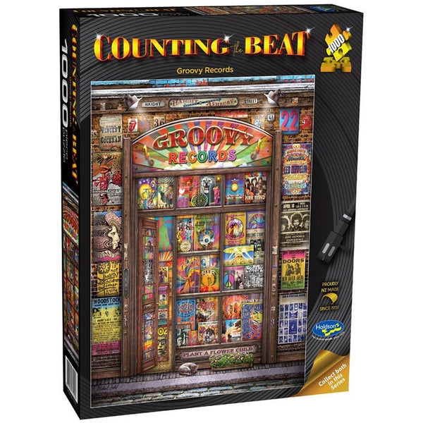 COUNTING THE BEAT GROOVY RECORDS 1000PC PUZZLE