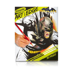 CRAYOLA ART WITH EDGE BATMAN 30PG COLOURING BOOK