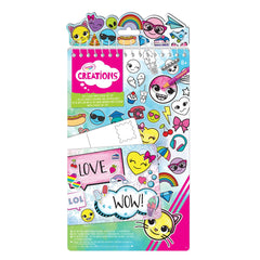 Crayola Creations Color Emoji Sticker Art Set - Toyworld