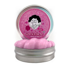 CRAZY AARON'S SMALL TIN ROSE SCENTED LOVE IS IN THE AIR
