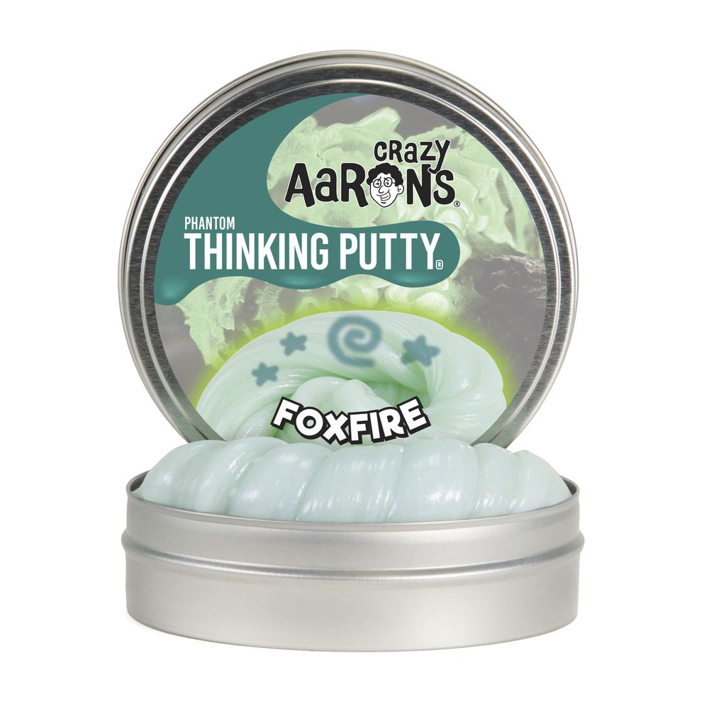 CRAZY AARON'S UV REACTIVE PHANTOMS FOXFIRE PUTTY