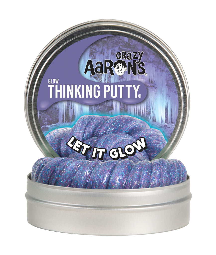 CRAZY AARON'S GLOWS IN THE DARK LET IT GLOW PUTTY