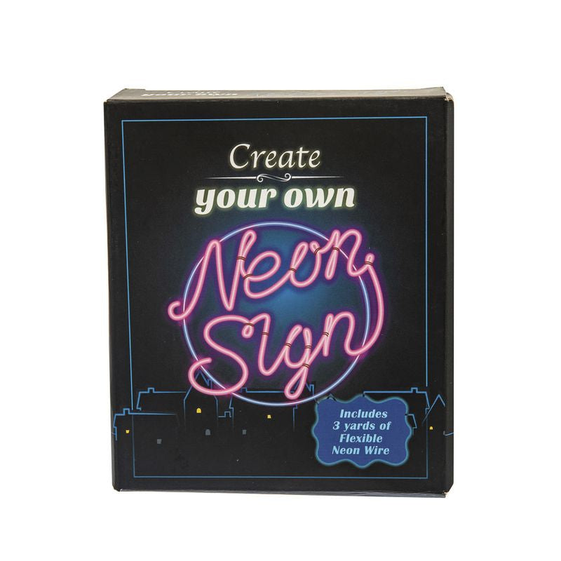 Create Your Own Neon Sign - Toyworld