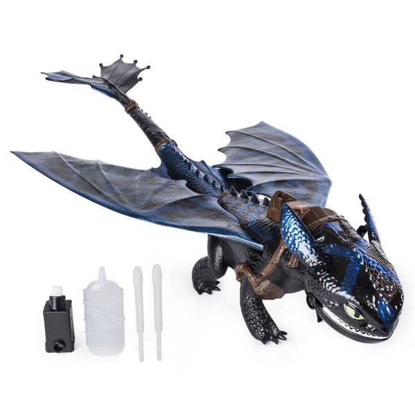DRAGONS HIDDEN WORLD GIANT FIRE BREATHING TOOTHLESS