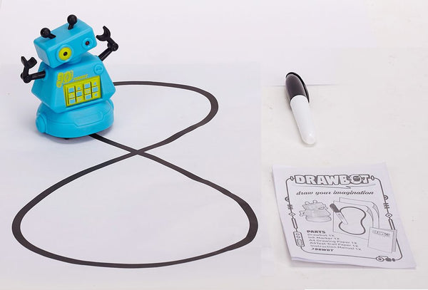 DRAWBOT ROBOT LEARN & CREATE BLUE