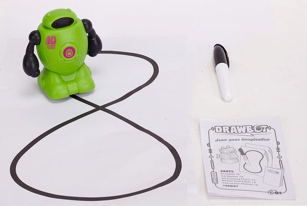 DRAWBOT ROBOT LEARN & CREATE GREEN