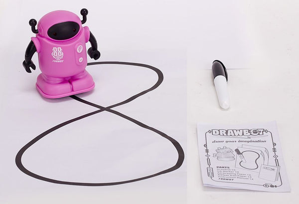 DRAWBOT ROBOT LEARN & CREATE PINK