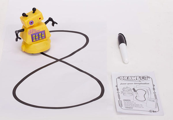 DRAWBOT ROBOT LEARN & CREATE YELLOW