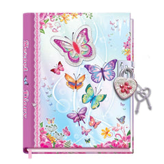 Butterfly Diary with Lock - Toyworld