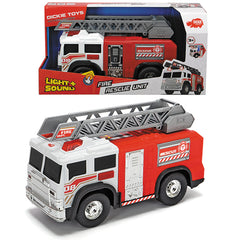 DICKIE TOYS ACTION SERIES 30CM FIRE RESCUE UNIT