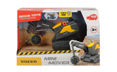 DICKIE TOYS CONSTRUCTION VOLVO MINI MOVER WRECKING BALL 13CM