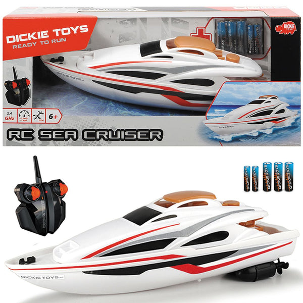 DICKIE TOYS READY TO RUN REMOTE CONTROL SEA CRUISER