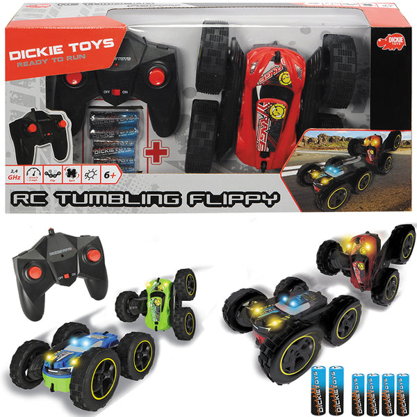 Dickie Toys Remote Control Tumbling Flippy - Toyworld
