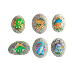 DINOSAUR ROCK & RUB-ON TRANSFER ASSORTED STYLES