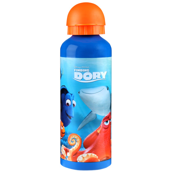 DISNEY FINDING DORY 500ML ALUMINIUM DRINK BOTTLE