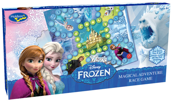 DISNEY FROZEN MAGICAL ADVENTURE RACE GAME