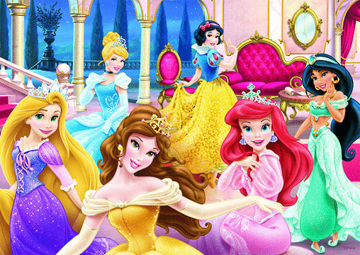 DISNEY PRINCESS 60PC BOXED PUZZLE DRESSED TO DELIGHT