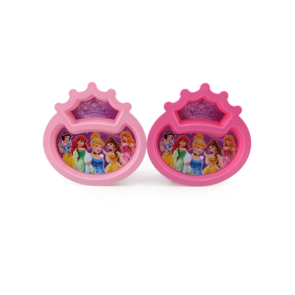 Disney Princess Toddler Sectioned Plate Open Assorted Styles - Toyworld