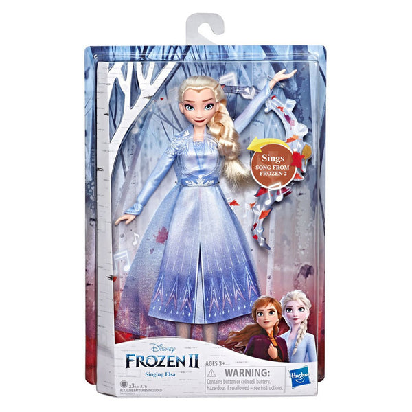 DISNEY FROZEN II SINGING DOLL ELSA