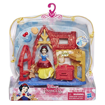 Disney Princess Small Doll Mini Environment Cottage Kitchen - Toyworld