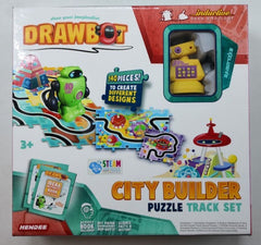 DRAWBOT ROBOT BUILDER WITH 140PC PUZZLE