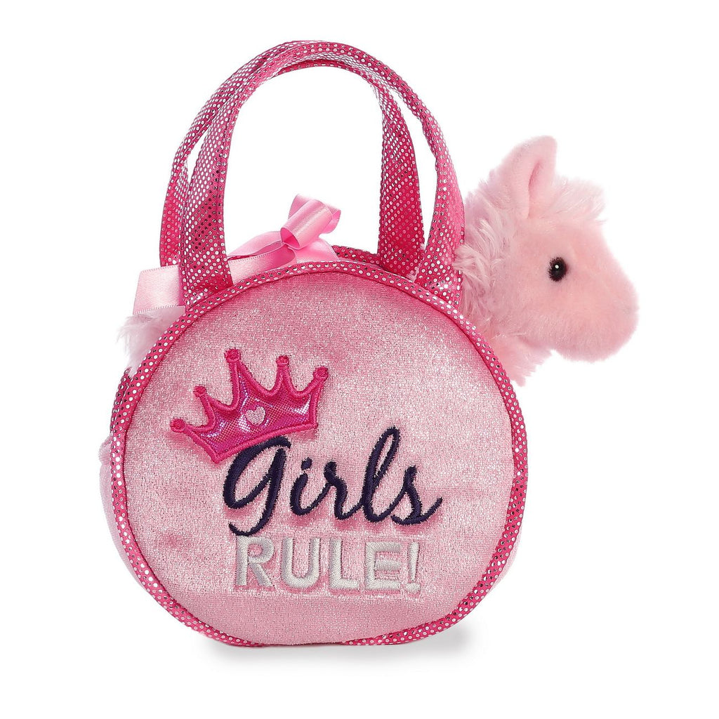 Fancy Pals Girls Rule Pet Carrier - Toyworld